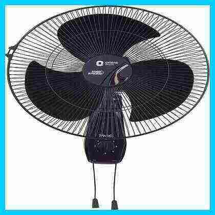 best orient wall fan