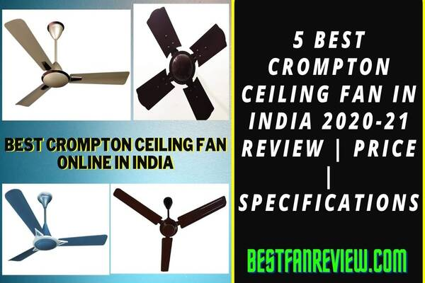 best crompton ceiling fan