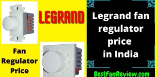 legrand fan regulator
